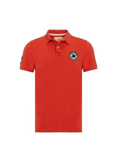 Routefield Tişört Kırmızı
